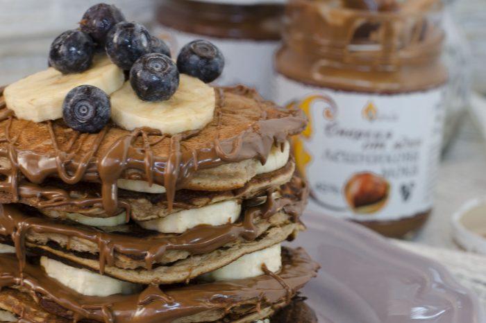 Протеинови палачинки, протеин, силна храна, вкусно, палачинки, домашна храна, енергия от ядки, тахани, крем от ядки, десерт