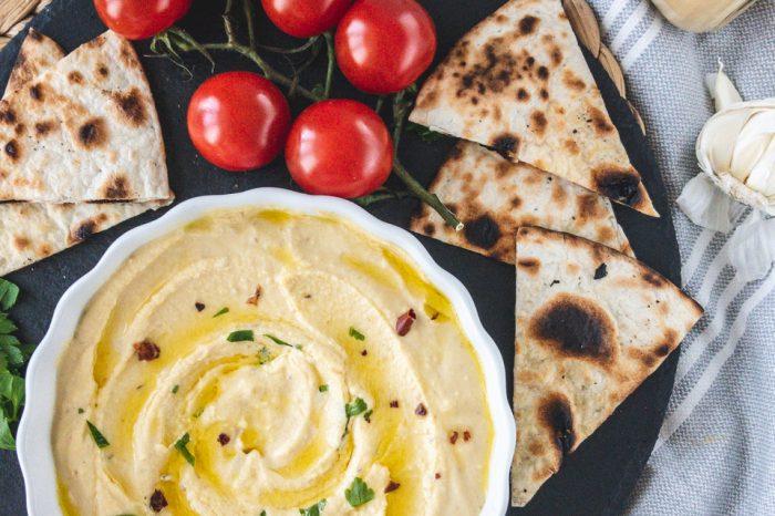 хумус, домашен, сусамов тахан, разядка, предястия, вкусно, рецепта